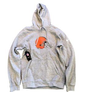 NWT Cleveland Browns Nike Logo Hoodie Sweatshirt